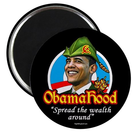 "ObamaHood Spread the Wealth 2.25"" Magnet (10 pack)"