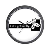 Get Knotty Wall Clock