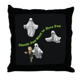Ghouls Just Want To Have Fun Throw Pillow