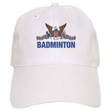 American Badminton Baseball Cap