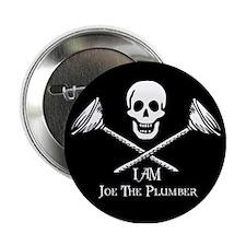 "Joe The Plumber Flag 2.25"" Button"