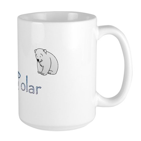Bi-Polar Bears Large Mug