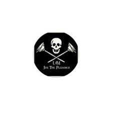 Joe The Plumber Flag Mini Button (100 pack)