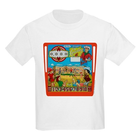 "Gottlieb® ""Flipper Cowboy"" Kids Light T-Shirt"