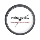 Proud to be a Chartered Accountant Wall Clock