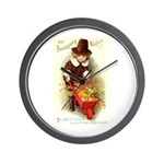 Little Pilgrim Wall Clock