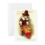 Little Pilgrim Greeting Cards (Pk of 10)