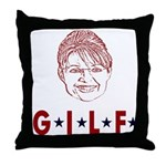 G.I.L.F. Throw Pillow
