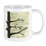 Coffee Mug WINTER TREE SILLOUETTE