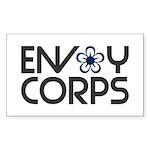 Envoy Corps Rectangle Sticker 50 pk)