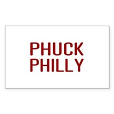 Phuck Philly 2 Rectangle Sticker 50 pk)