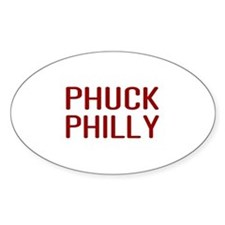 Phuck Philly 2 Oval Decal