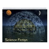 Science Fiction Wall Calendar