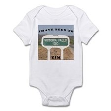 Victoria Falls Sign Post Infant Bodysuit