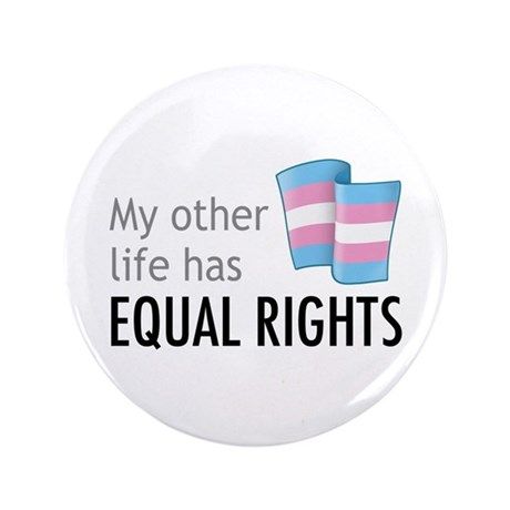 "My Other Life Trans 3.5"" Button (100 pack)"