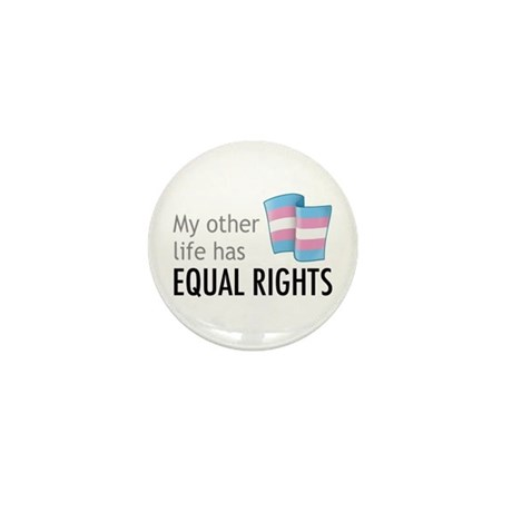 My Other Life Trans Mini Button (10 pack)