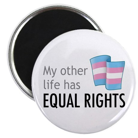 "My Other Life Trans 2.25"" Magnet (10 pack)"