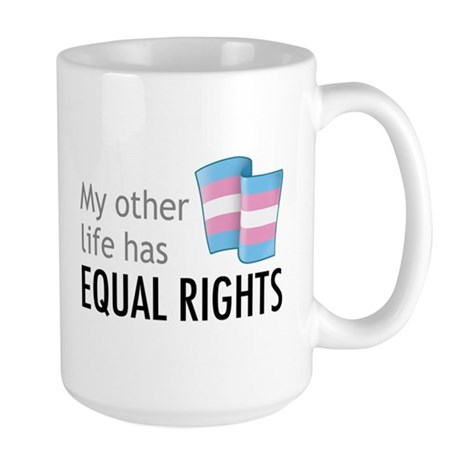 My Other Life Trans Large Mug