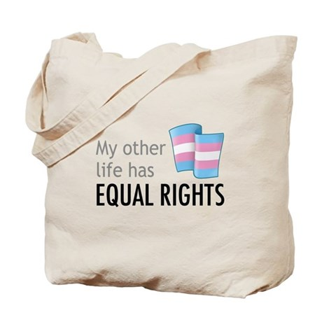 My Other Life Trans Tote Bag