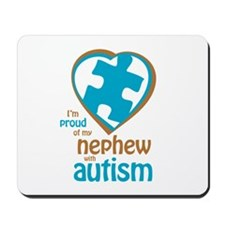 Proud of Nephew (4BB) Mousepad