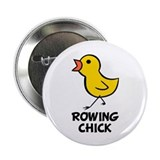 "Rowing Chick 2.25"" Button"