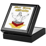 Beer Pong God Keepsake Box