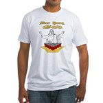 Beer Pong God Fitted T-Shirt