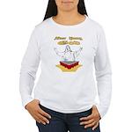 Beer Pong God Women's Long Sleeve T-Shirt