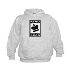 CHESS - RATED KING Hoodie