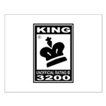 CHESS - RATED KING Small Poster