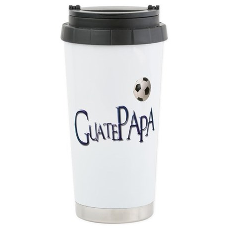 GuatePapa Ceramic Travel Mug
