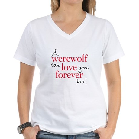 Werewolf Love Twilight Women's V-Neck T-Shirt