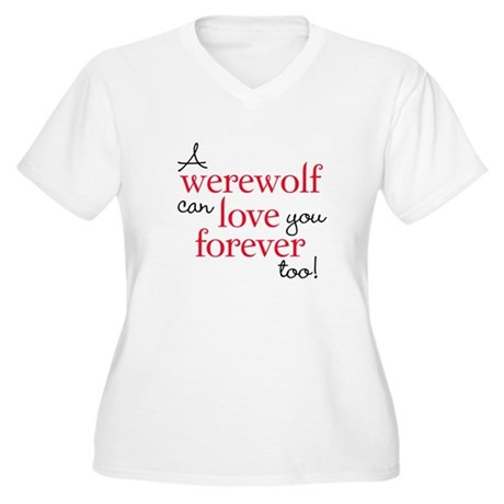 Werewolf Love Twilight Women's Plus Size V-Neck T-
