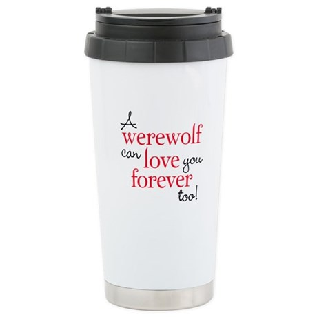 Werewolf Love Twilight Ceramic Travel Mug