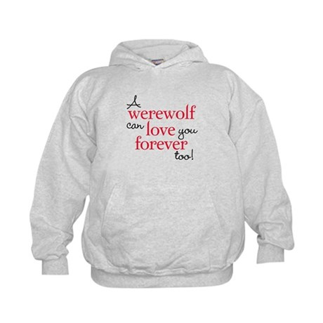 Werewolf Love Twilight Kids Hoodie