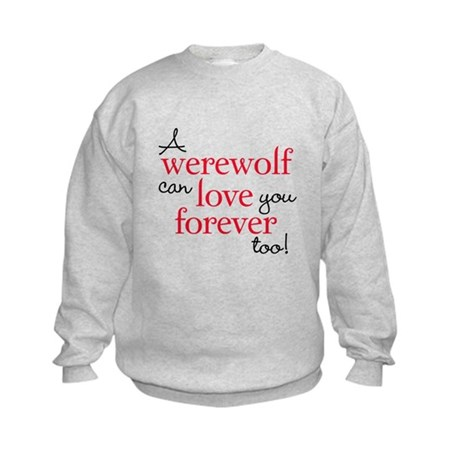 Werewolf Love Twilight Kids Sweatshirt