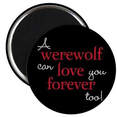 Werewolf Love Twilight 2.25&quot; Magnet (100 pack)