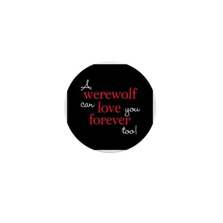 Werewolf Love Twilight Mini Button