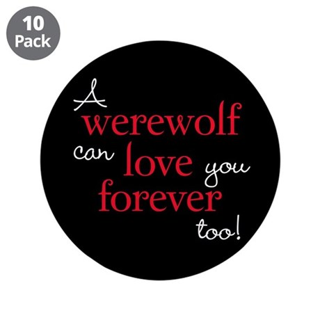 Werewolf Love Twilight 3.5&quot; Button (10 pack)