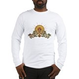 Tibetan Snow Lion Long Sleeve T-Shirt
