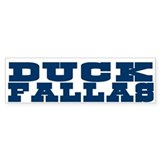 Duck Fallas Bumper Bumper Sticker