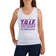 THIS GRANNY IS FABULOUS! Women's Tank Top