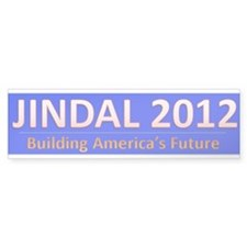 Jindal in 2012 Bumper Sticker (50 pk)