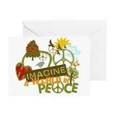 Imagine Peace Greeting Cards (Pk of 20)