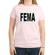 FEMA Women's Pink T-Shirt