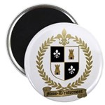 MIUS d'ENTREMONT Family Crest Magnet