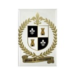 MIUS d'ENTREMONT Family Crest Rectangle Magnet