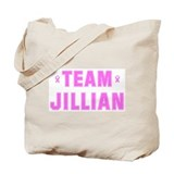 Team JILLIAN Tote Bag