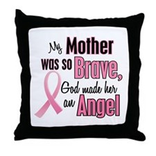 Angel 1 (Mother BC) Throw Pillow
