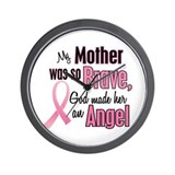 Angel 1 (Mother BC) Wall Clock